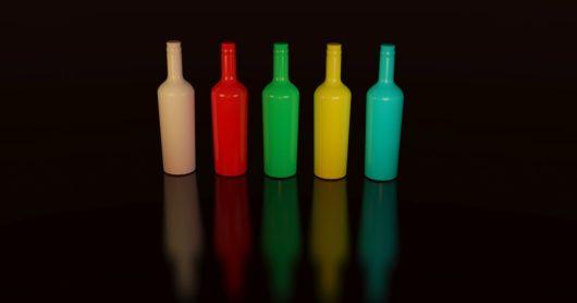 Weinflasche Dekorieren Gestalten Und Schmücken 5 Ideen